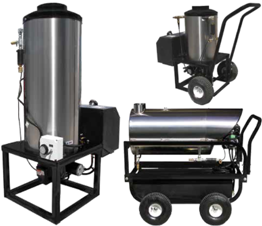 Hot Box Water Heaters For High Pressure By Pressure Pro Power Wash Solutions
